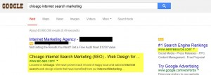 Chicago Internet Search Marketing