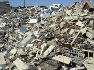 Hazardous Electronic Devices are Being Disposed of Every Day and Going Into Landfills