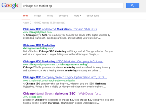 Our SEO Results Picture