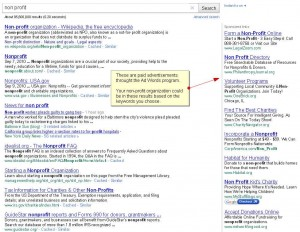 Google Sponsored Ad Results