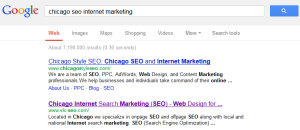 Chicago SEO Internet Marketing